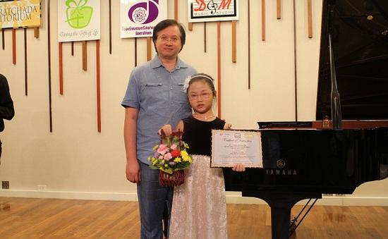 Quách Hoàng Nhi muốn mỗi học sinh Việt Nam đều được dạy piano