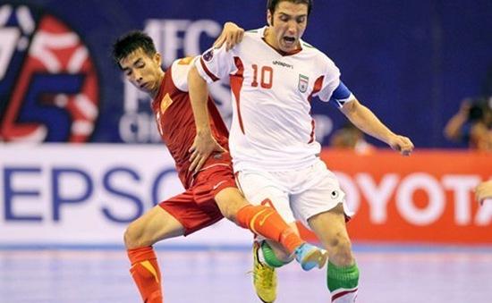Trước thềm Futsal GP 2014: Việt Nam thua nhanh Iran