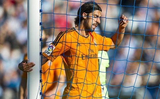 Real Madrid mất Khedira 2 tháng vì chấn thương