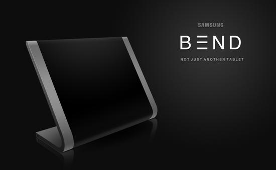 """Chiêm ngưỡng thiết kế Samsung Tablet cong """"độc đáo"""""""