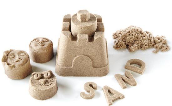 Kinetic Sand – loại cát không dính tay hay bám bẩn trên quần áo