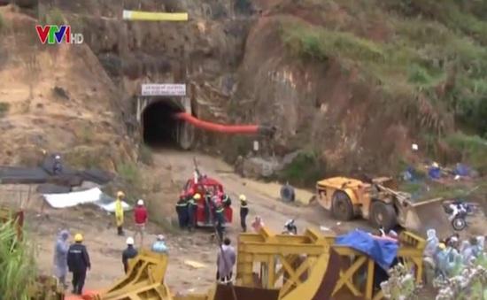 Sập hầm ở Lâm Đồng: Mưa to, công tác cứu hộ khó khăn