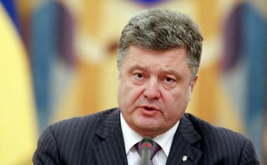Tổng thống Ukraine cam kết thực hiện kế hoạch hòa bình