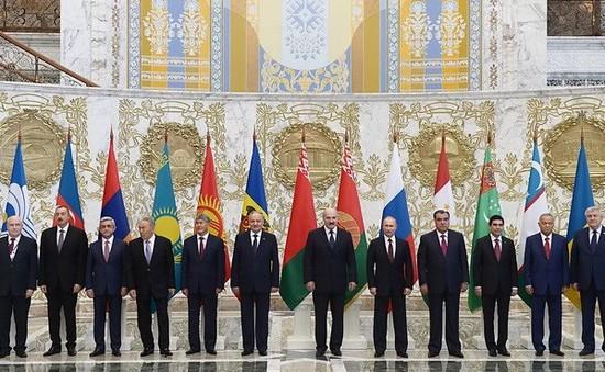Hội nghị thượng đỉnh SNG tại Belarus ký nhiều văn kiện hợp tác