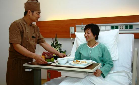 Vinmec cung cấp dịch vụ dinh dưỡng tiêu chuẩn quốc tế