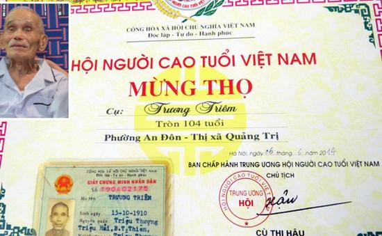 Bí quyết trường thọ của cặp vợ chồng cao tuổi nhất Việt Nam