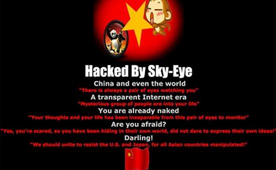 Hơn 700 website Việt Nam bị tin tặc Trung Quốc tấn công