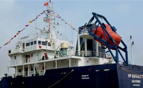 Sáng nay 9/12, tàu VP Asphalt 02 sẽ về nước