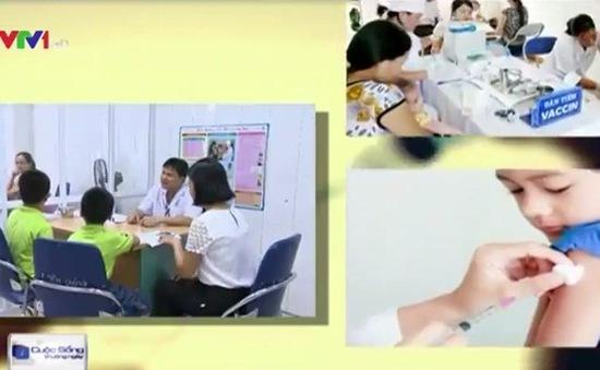 Lưu ý khi đưa trẻ đi tiêm vaccine sởi, rubella