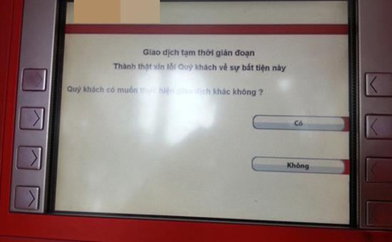 Phạt tiền tới 15 triệu đồng ngân hàng để ATM hết tiền