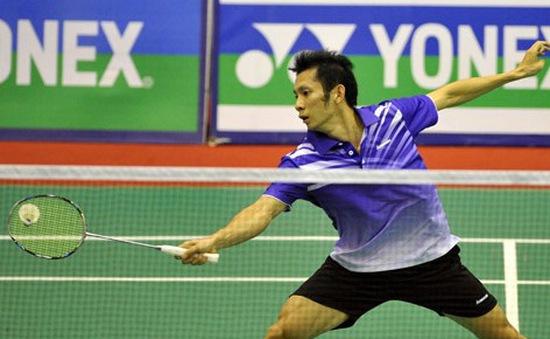 Nguyễn Tiến Minh và Vũ Thị Trang lọt vào bán kết giải cầu lông Việt Nam Open 2014