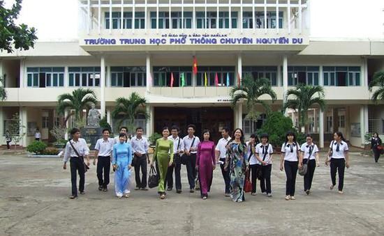 Đăk Lăk đưa vào sử dụng Trường Chuyên Nguyễn Du trong năm học mới