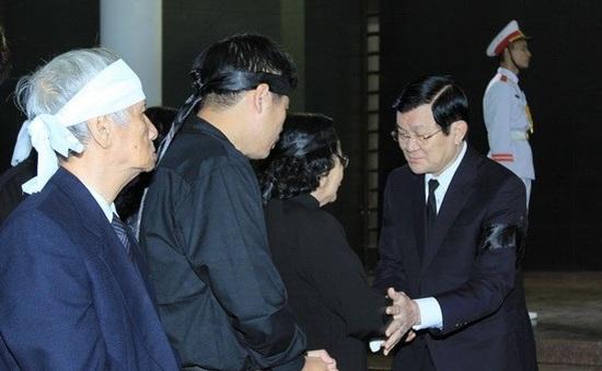 Tổ chức trọng thể Lễ tang nguyên Phó Chủ tịch Quốc hội Mai Thúc Lân