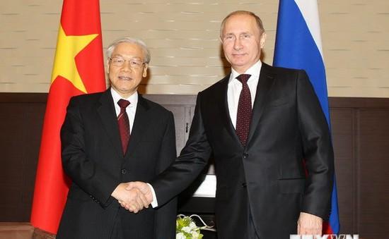 Thắt chặt quan hệ đối tác chiến lược toàn diện Việt Nam - LB Nga