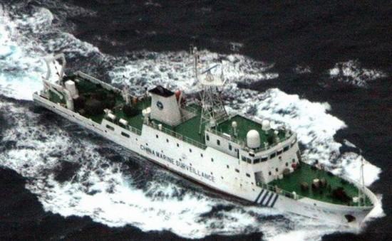 Tàu Trung Quốc vào vùng biển tranh chấp với Nhật Bản