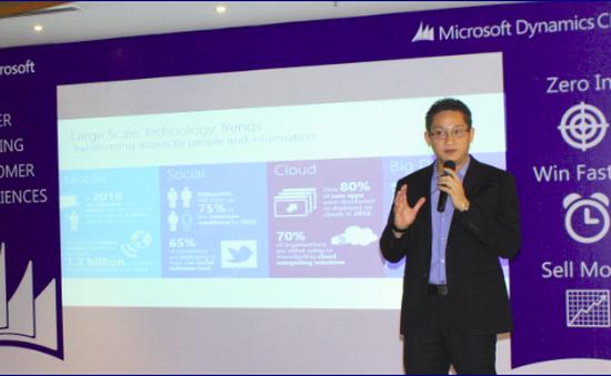 Microsoft trình làng giải pháp quản lý quan hệ khách hàng mới
