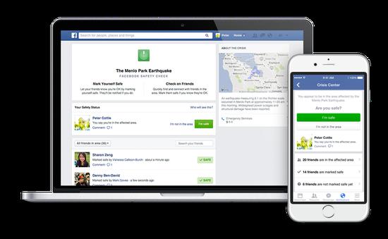 Facebook Safety Check: Hãy để người thân biết bạn an toàn