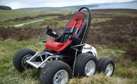 Hexhog – Xe lăn có khả năng chạy trên mọi địa hình