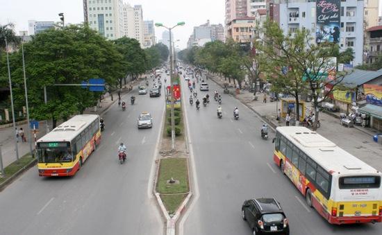 Hà Nội thử nghiệm tuyến xe buýt nhanh