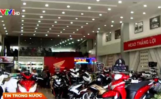 Giá xe máy giảm mạnh tháng cuối năm