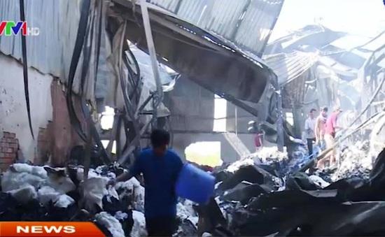 Bình Dương: Xưởng găng tay vẫn có thể cháy lại