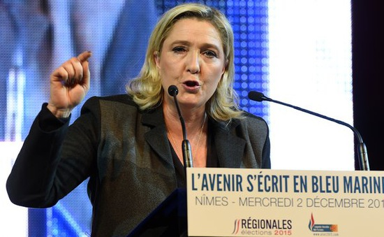 Đảng Mặt trận Quốc gia Pháp hy vọng giành chiến thắng vòng 2