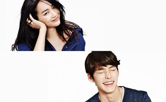 Shin Min Ah và Kim Woo Bin đọ dáng trong loạt ảnh quảng cáo