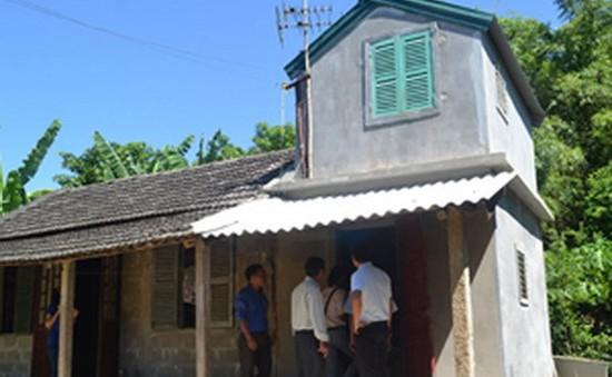 Hơn 20 tỷ đồng giúp dân xây nhà phòng tránh bão lụt