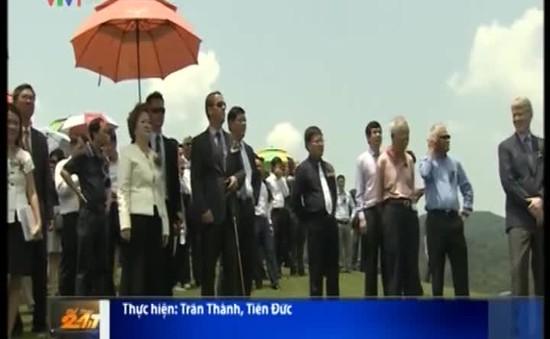Khai trương sân golf BRG Legend Hill tại Hà Nội