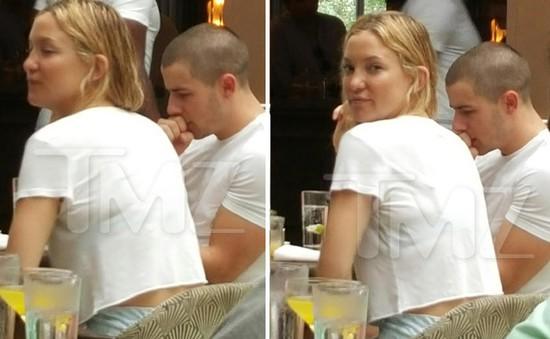 Nick Jonas trở thành bồ trẻ của Kate Hudson?