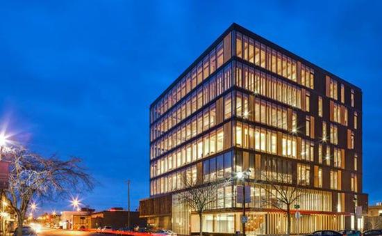 Tòa nhà văn phòng bằng gỗ lớn nhất thế giới