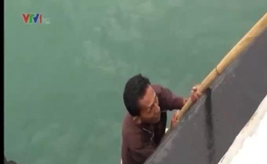 Cảnh sát biển Việt Nam thực nghiệm điều tra vụ cướp tàu Malaysia