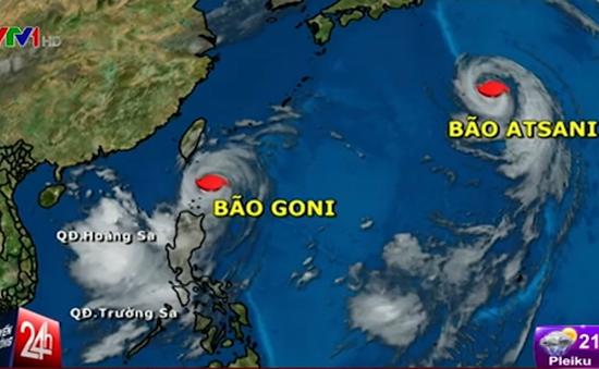 Siêu bão Goni đổ bộ vào Philippines và hướng tới Đài Loan