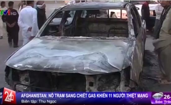 Afghanistan: Nổ trạm sang chiết gas, 11 người thiệt mạng