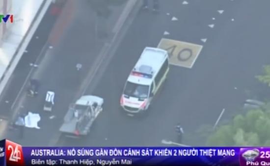 Australia: Xả súng gần đồn cảnh sát, 2 người thiệt mạng