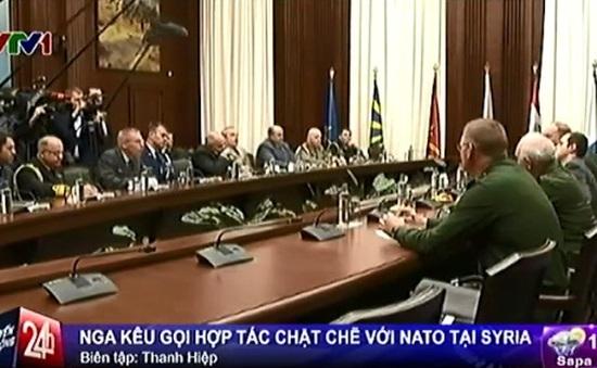 Nga kêu gọi hợp tác chặt chẽ hơn với NATO tại Syria