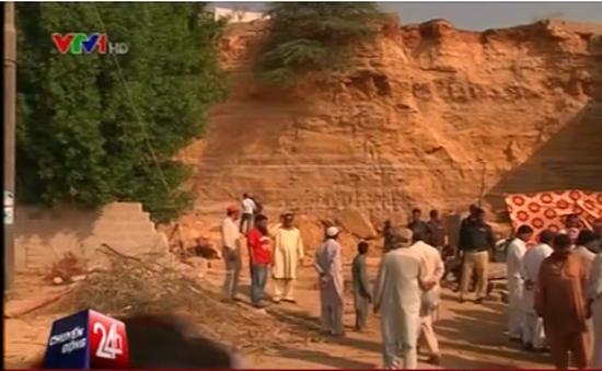 Lở đất khiến 13 người thiệt mạng tại Pakistan