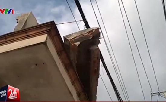'Tử thần' rình rập tại công trình tháo dỡ dở dang