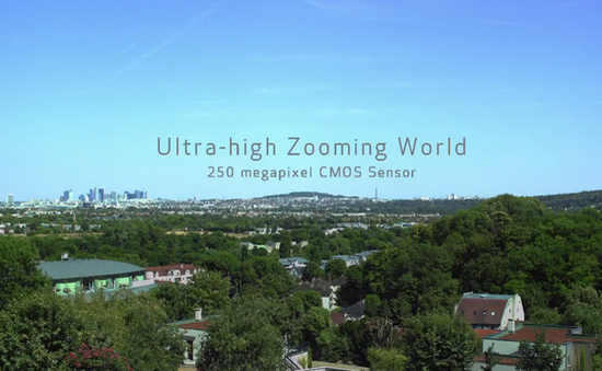 Canon trình diễn sức mạnh của cảm biến 250 megapixel