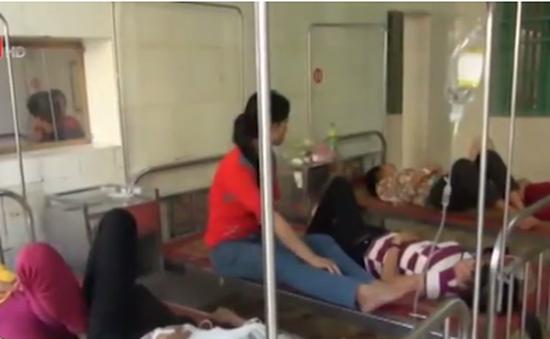 Hơn 50 công nhân ngộ độc thực phẩm ở Nam Định