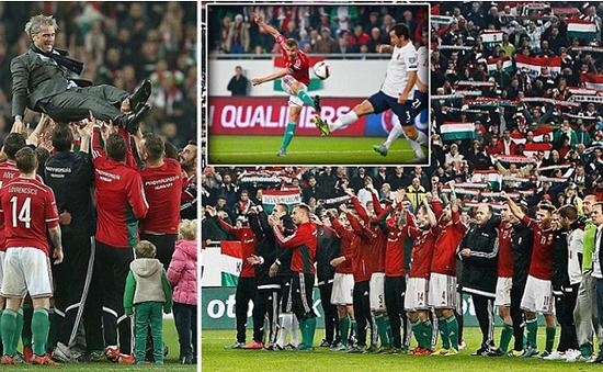 Đánh bại Na Uy, Hungary chính thức giành vé đến Euro 2016
