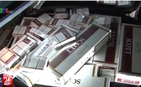 TP.HCM bắt giữ gần 3.000 bao thuốc lá lậu