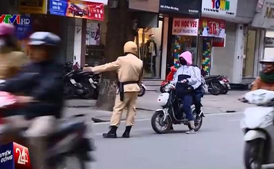 Hà Nội tăng cường xử phạt xe đạp điện vi phạm giao thông
