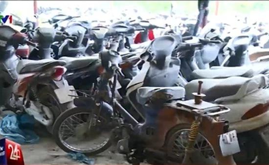 Hà Nội ra quân xử lý xe máy cũ nát