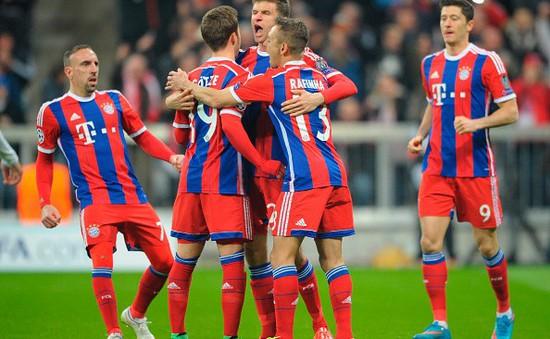 """Bayern """"hủy diệt"""" 10 người của Shakhtar Donetsk với tỷ số không tưởng"""