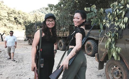 """Ca sĩ Hà Linh đóng phim chiến tranh: """"Trải nghiệm cả đời tôi không quên"""""""