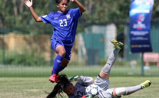 Thắng đậm U14 Malaysia, U14 Thái Lan vào chung kết giải ĐNÁ