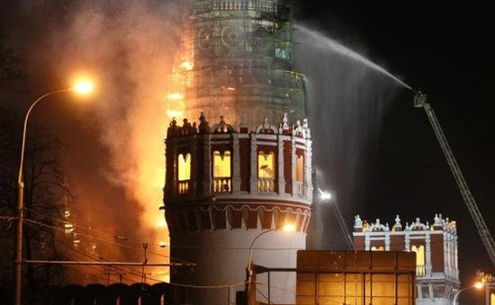 Nga: Cháy tu viện cổ nổi tiếng Novedevichy