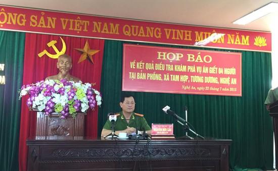 Vụ thảm sát ở Nghệ An: Do mâu thuẫn bột phát khi hái trộm chanh