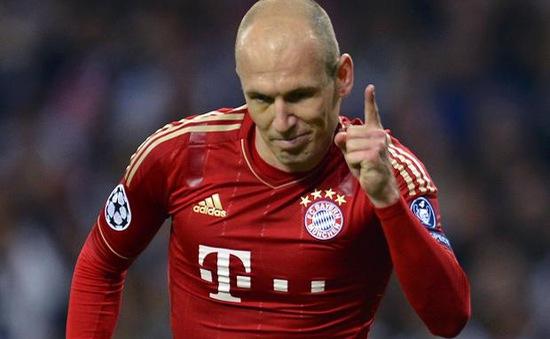Tin dữ cho Bayern: Robben nghỉ 6 tuần, lỡ đại chiến với Dortmund